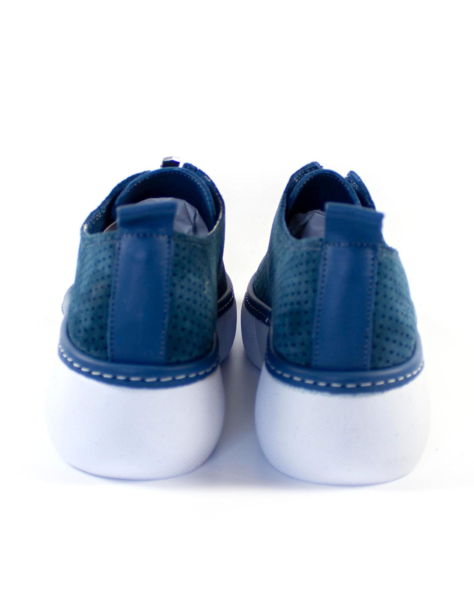 синие кеды SM