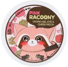 Secret Key Патчи гидрогелевые для глаз и щек Pink Racoony Hydrogel Eye & Cheek Patch