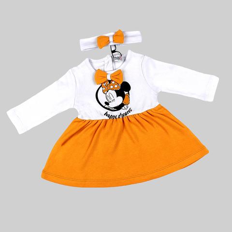 Платье+повязка малышке (68-86) 210403-OP1073.3