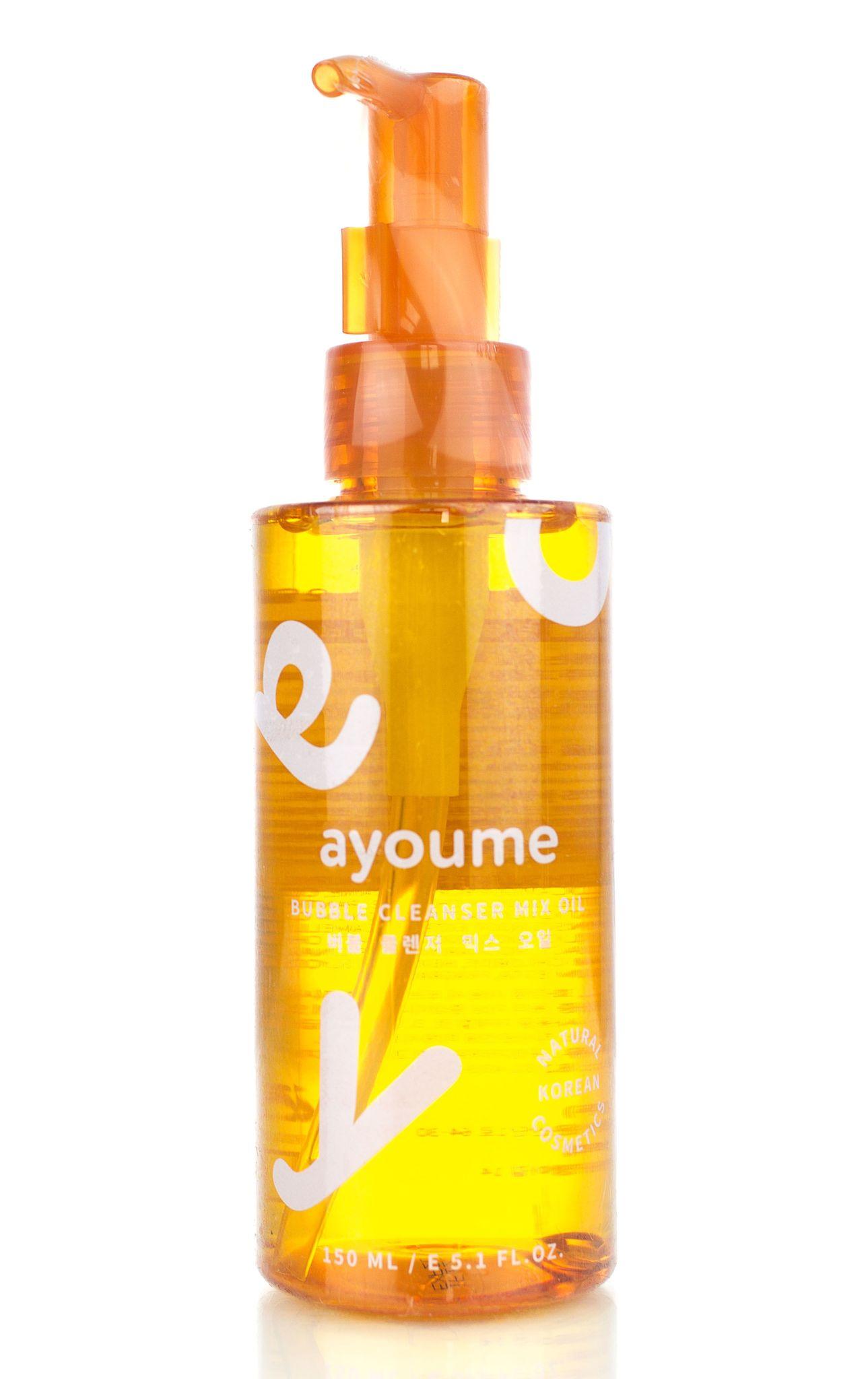 Для снятия макияжа Гидрофильное масло для лица очищающее AYOUME BUBBLE CLEANSER MIX OIL 150мл ayoume_bubble_cleanser_mix_oil.jpg