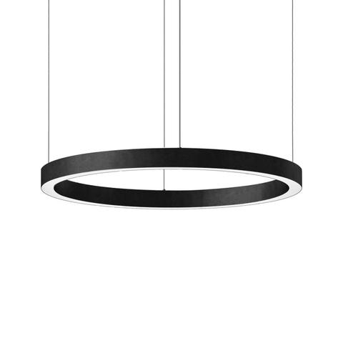 Подвесной светильник копия Light Ring by HENGE D100 (черный)