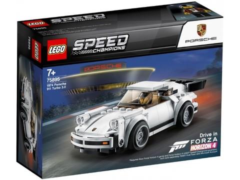 LEGO Speed Champions: 1974 Porsche 911 Turbo 3.0 75895 — 1974 Porsche 911 Turbo 3.0 — Лего Спид чампионс Чемпионы скорости