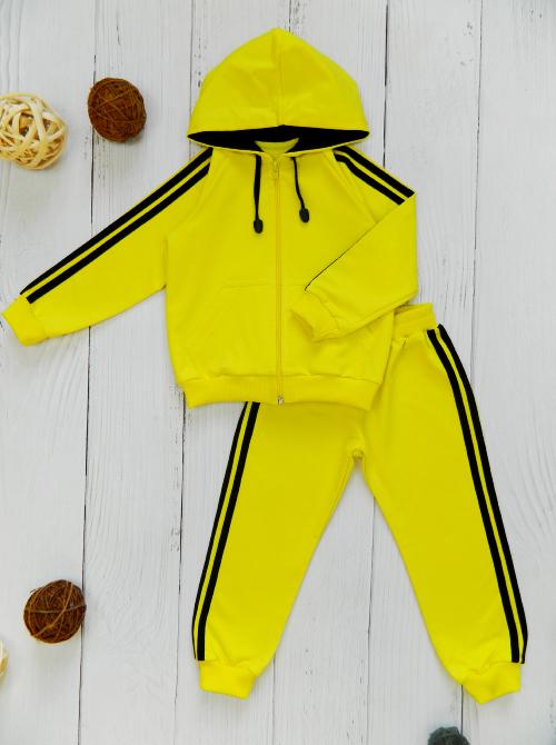 Костюм 3041, желто-черный