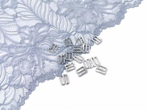 Крючки, 10мм, ОПТ, металл, серебро, премиум-класс (Арт: KR/10-PS), 50 шт