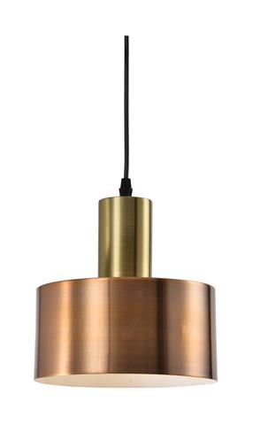 Подвесной светильник Escada 1160/1S E27*60W Red brass