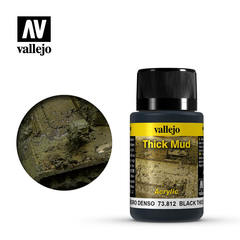 Weathering Effects 40ml. Black Thick Mud