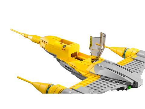 LEGO Star Wars: Истребитель Набу 75092 — Naboo Starfighter — Лего Стар ворз Звёздные войны Эпизод
