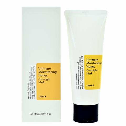 CosRX Ultimate Moisturizing Honey Overnight Mask 50ml Ночная маска с экстрактом прополиса, 50мл, CosRX