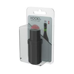 Пробка для вина Koala, черная, фото 2