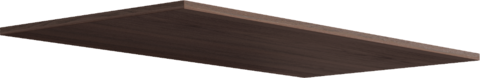 Комплект полок Париж 10 (2 шт для модуля 17) Ижмебель дезира темная/орех натуральный глянец