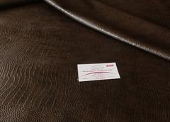 Искусственная кожа 56 печ.кор. крокодил коричневый