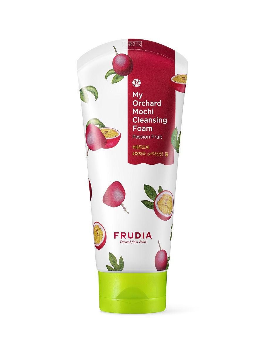Очищающая пенка-моти c маракуйей, 120мл, Frudia My Orchard Passion Fruit Mochi Cleansing Foam