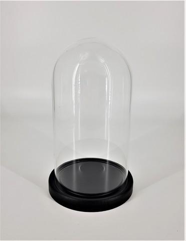 Стеклянная колба (Колпак, клош, купол, ваза, цилиндр) 25*14 см