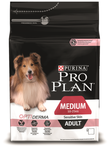 PRO PLAN Medium Adult Sensitive Skin 14 кг