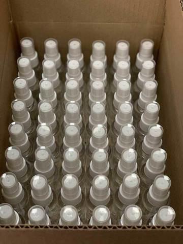 Комплект санитайзер Stay-Safe в коробке - 54 шт по 50 мл