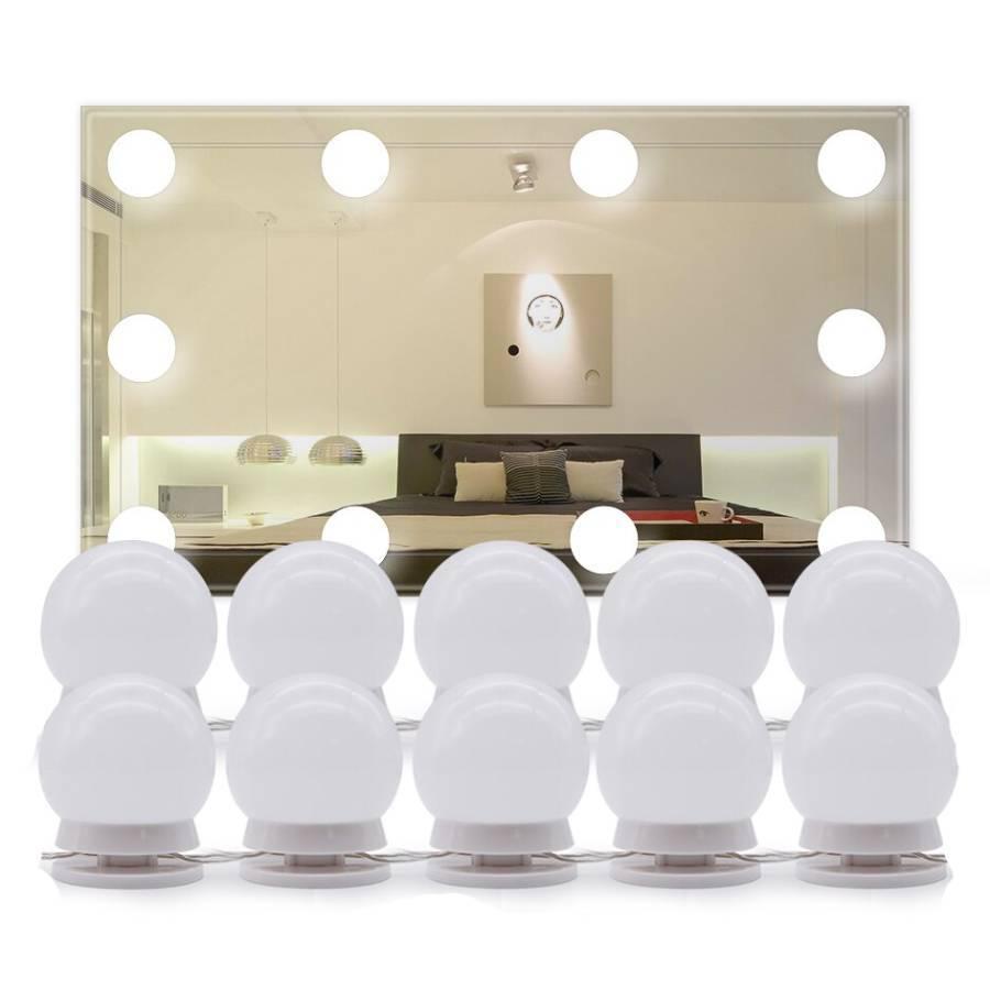 Женские штучки Светодиодные лампочки на зеркало для макияжа с регулируемой яркостью (набор 10 шт) svetodiodnye-lampochki-na-zerkalo-dlya-makiyazha-s-reguliruemoy-yarkostyu.jpg