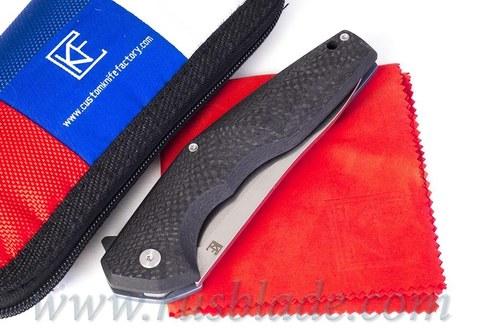 CKF ELF Knife Prototype Blue Accent