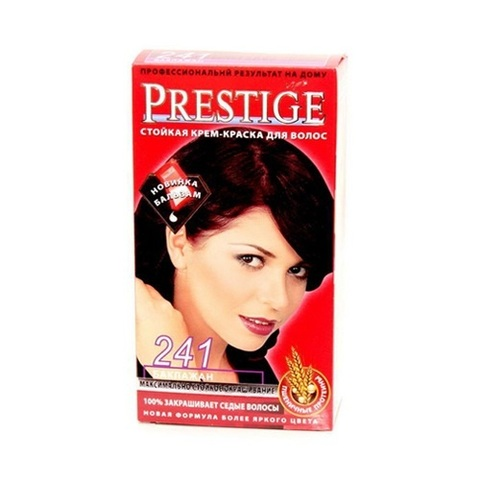 Краска для волос Prestige 241 - Баклажан, 50/50 мл.
