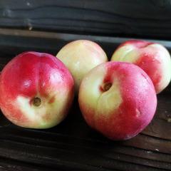 Нектарины мини розовые свежие / 1 кг