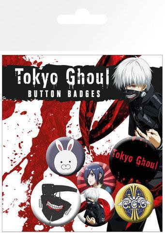 Набор значков «Токийский гуль»