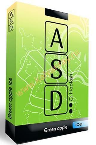 Бестабачная смесь ASD Hookah - Ледяное Зеленое Яблоко