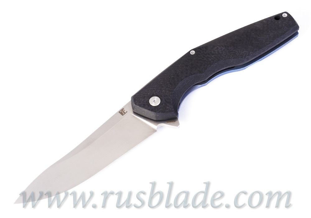 CKF ELF Knife Prototype Blue Accent - фотография