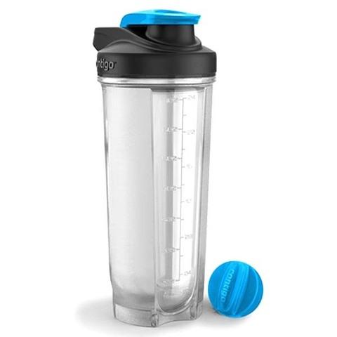 Шейкер Contigo Shake & Go (0,82 литра), голубой