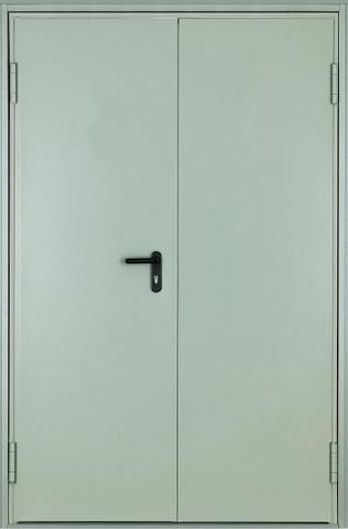 Дверь входная ДМП EI-60 стальная, RAL 7040, 1 замок, фабрика Арсенал