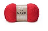 Пряжа Nako Calico красный 2209