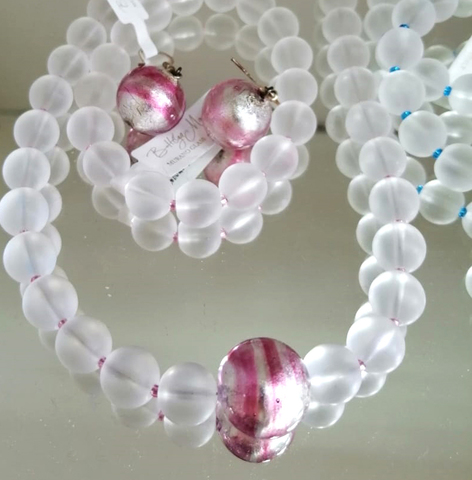 Комплект Satinato цвет Pink