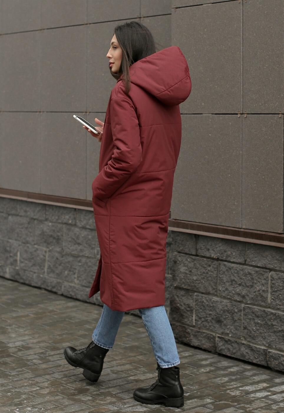 Пуховик-одеяло с капюшоном