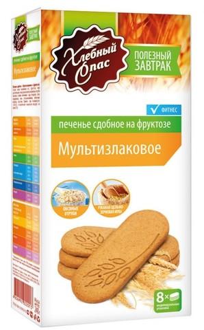 Печенье ХС Мультизлаковое на фрукт. 134г
