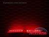LED катафоты Toyota Corolla рестайл белые