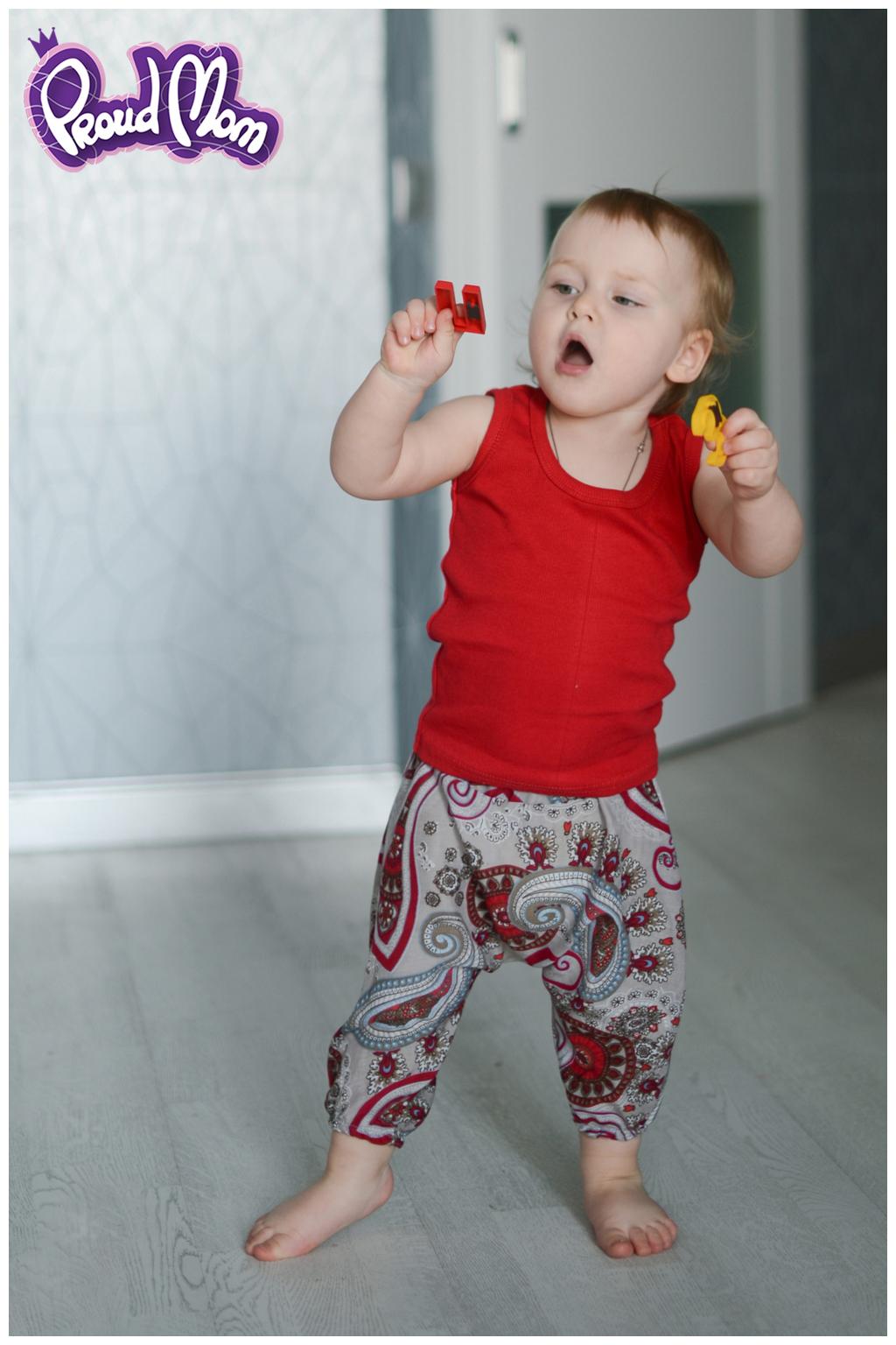 Детская маечка Легкость бытия красная - Фото 2