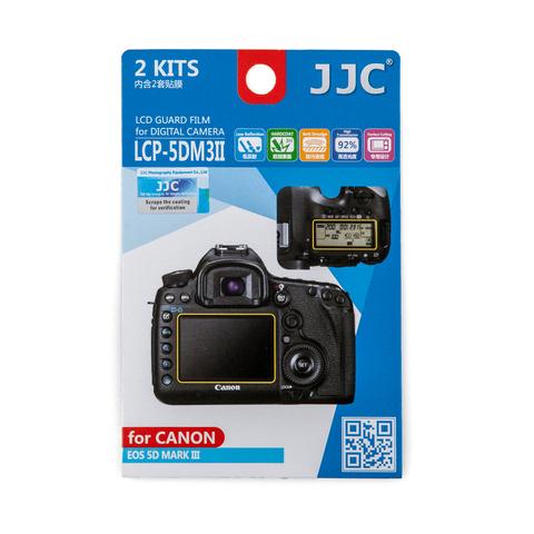 Набор защитных пленок JJC 2в1 для Canon 5D Mark III