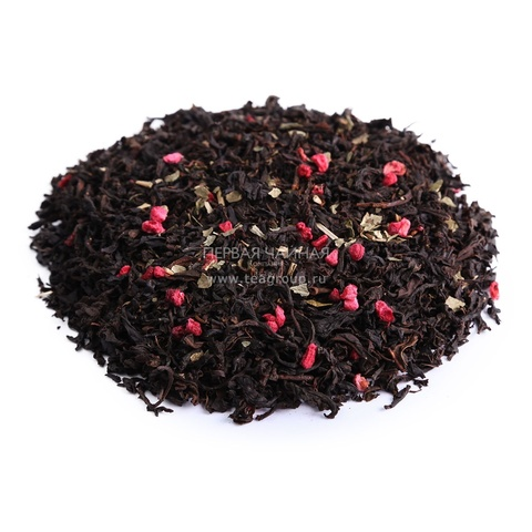"""Чай черный с добавками """"Малиновый рай"""", 100г"""