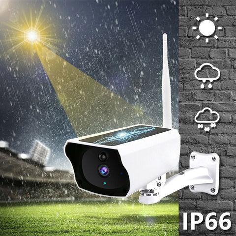 Wi-Fi камера видеонаблюдения 2mp с солнечной панелью беспроводная