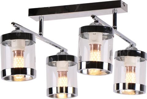Потолочный светильник Escada 649/4P E27*60W Chrome/White