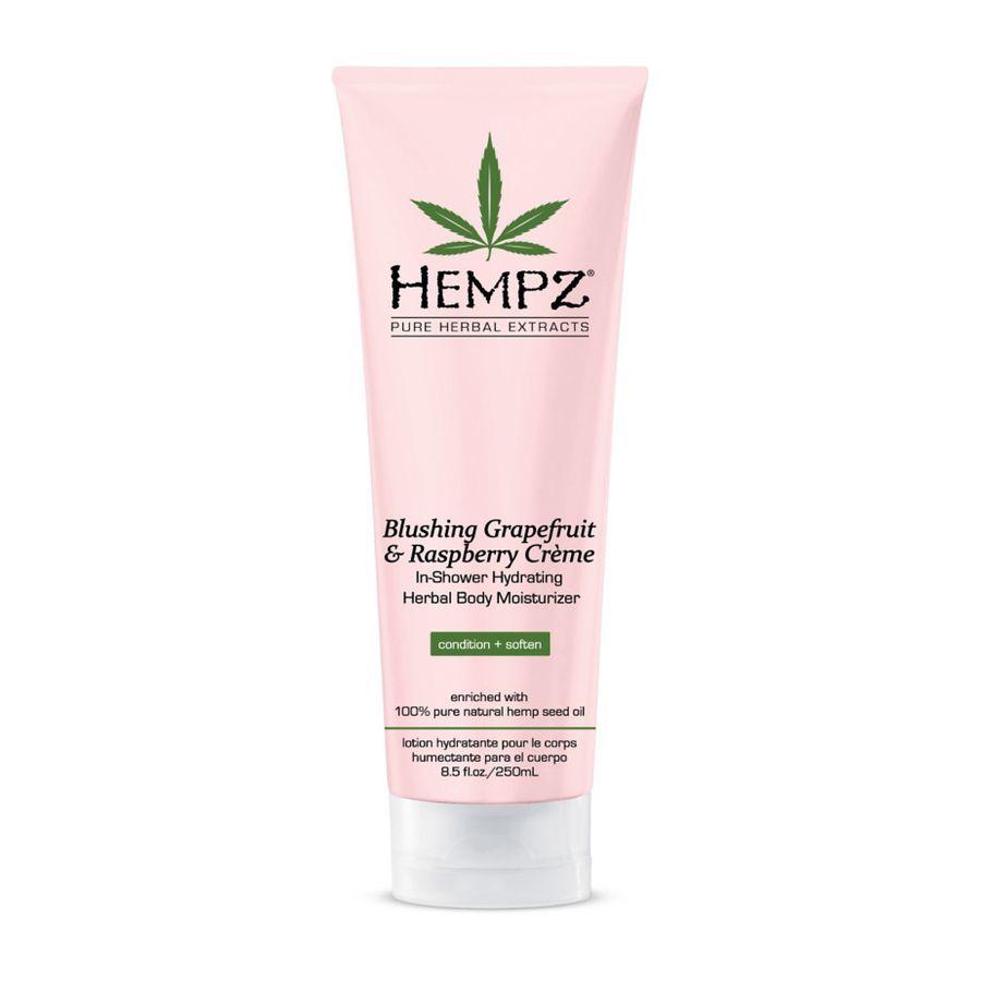 Кондиционер для душа увлажняющий HEMPZ Blushing Grapefruit & Raspberry Creme In-Shower Hydrating Herbal Body Moisturizer 250 мл