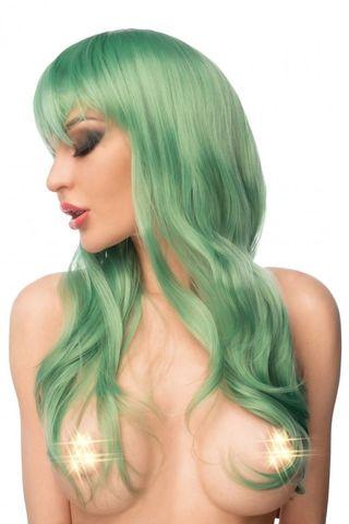 Зеленый парик  Мидори