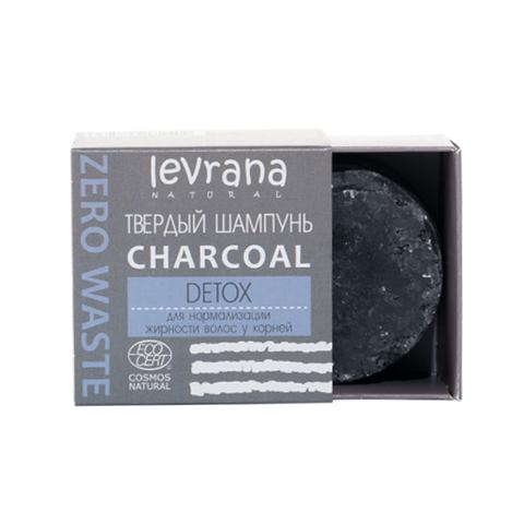 Твердый шампунь Charcoal детокс, 50 гр.