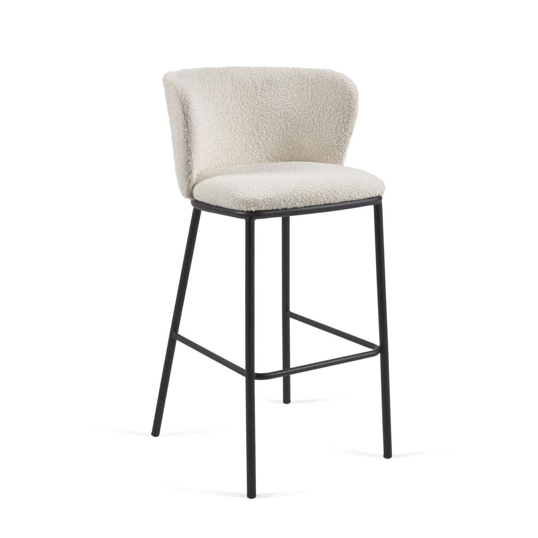 Барный стул Ciselia белый - вид 1