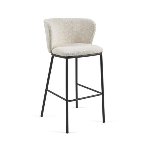 Барный стул Ciselia белый
