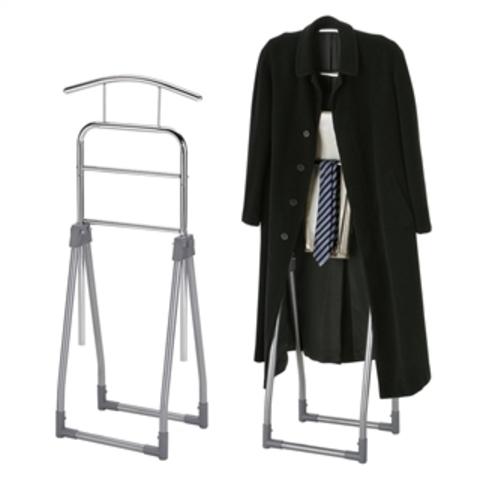 Вешалка для одежды напольная костюмная GC-2491 хром