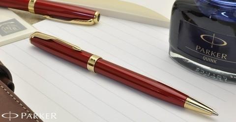 1859472 Parker Sonnet Lacquer Red GT Шариковая ручка