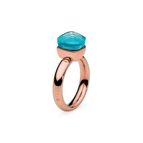 Кольцо Firenze aqua 17.2 мм 610081/17.2 BL/RG