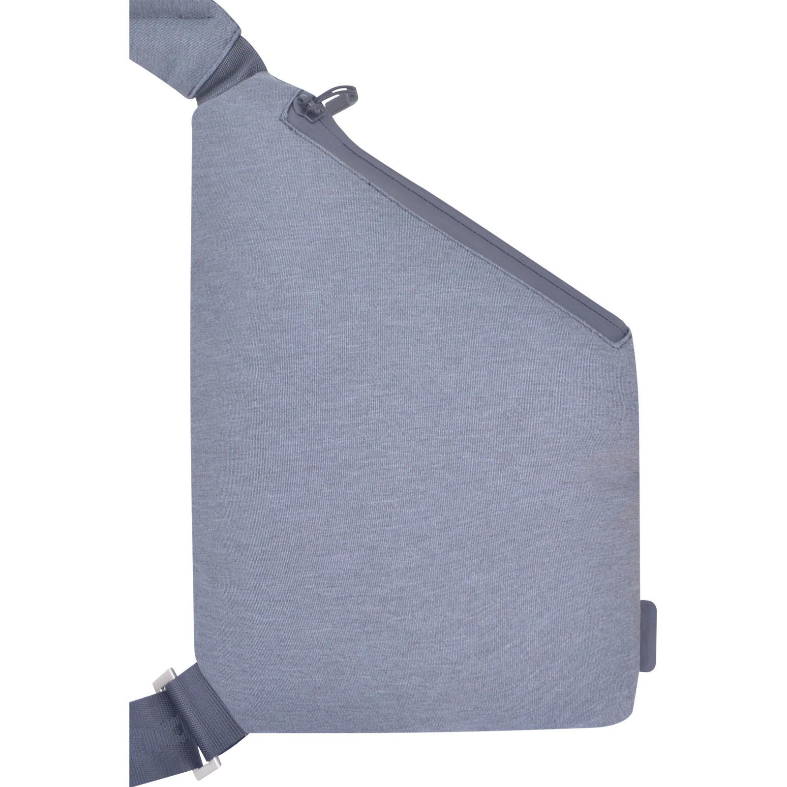Сумка-мессенджер Bagland Triangle 3 л. серый (0021069)