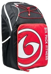 Рюкзак с контейнерами для еды 6 Pack Fitness Pursuit Backpack 300 Black/Red/White