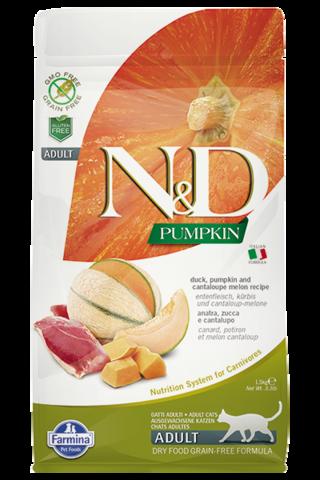 Сухой беззерновой корм Farmina N&D GF Cat Pumpkin Duck