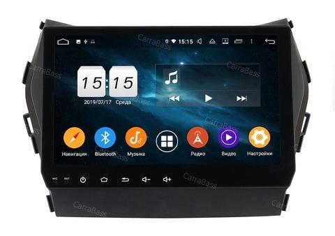 Штатная магнитола  Hyundai SantaFe, ix45 2012-2018 Android 9.0 IPS DSP 4/64GB модель CB9605 PX5